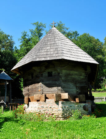 ethno: sibiu romania ethno museum wood church architecture