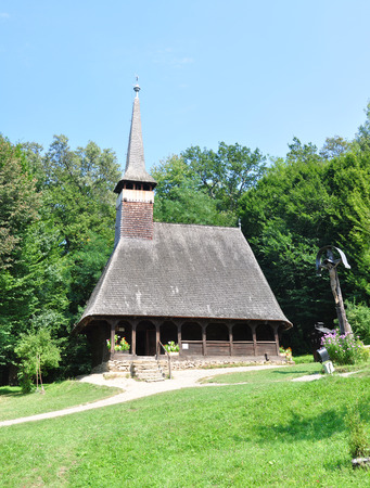 anthropological: sibiu romania ethno museum wood church architecture