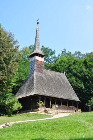 ethno: sibiu romania ethno museum wood church architecture