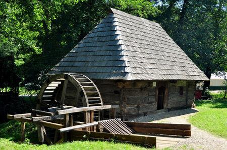 ethno: sibiu romania ethno museum wood water mill