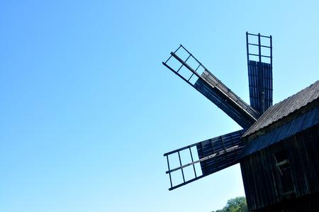 ethno: sibiu romania ethno museum wood wind mill