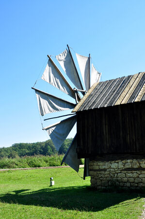 ethno: sibiu romania ethno museum wood wind mill