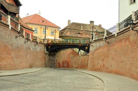 lier: bridge of lies sibiu city romania famous landmark Editorial