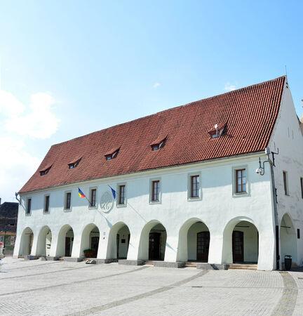 Museum of Ethnography and Folk Art sibiu city romania architecture landmark Editorial
