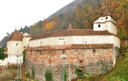 weavers: Brasov city romania weavers bastion landmark architecture Editorial