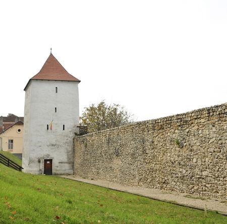 hunters tower: Brasov city romania hunters tower landmark architecture