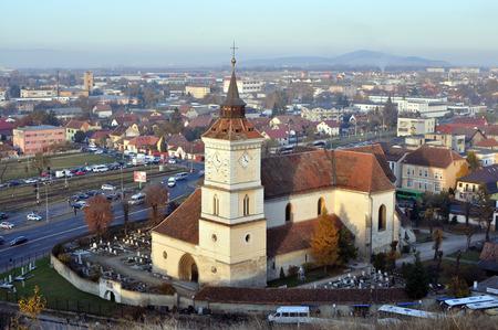 evangelical: Saint Bartholomew Evangelical church the oldest building in Brasov Romania