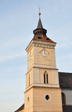 evangelical: Saint Bartholomew tower Evangelical church the oldest building in Brasov Romania