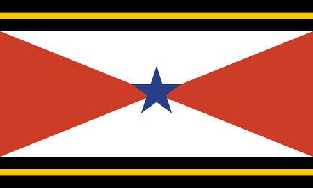 nation: Akha people thailand flag nation ethnic symbol