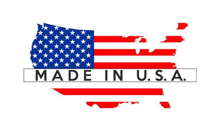 미국 국가 플래그 그림 모양 그림에서 만든
