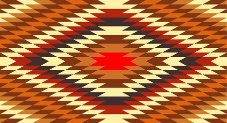 american native traditional ethnic costume motif seamless pattern Ilustração