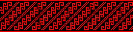 serbia: serbia traditional ethnic costume motif seamless pattern