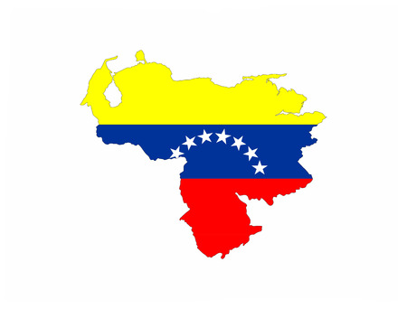 mapa de venezuela: Mapa Venezuela bandera del pa�s forma s�mbolo nacional