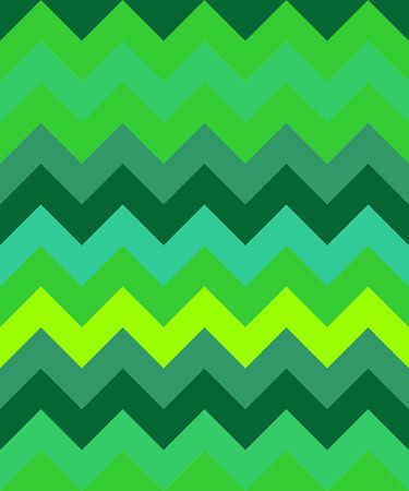 zig: abstract zig zag background wave green triangles pattern