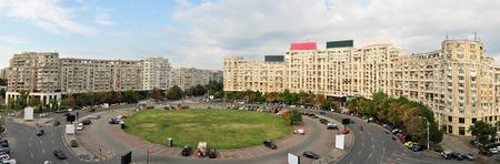 bucuresti: bucharest city romania alba iulia square panorama