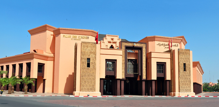 congress: marrakech city morocco congress palace landmark architecture