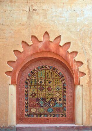 medina: agadir city morocco medina landmark arab decoration detail Stock Photo