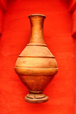 medina: agadir city morocco medina landmark arab wood vase