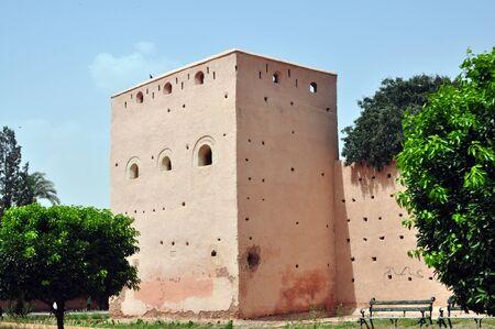 védekező: marrakech city morocco defensive walls landmark architecture