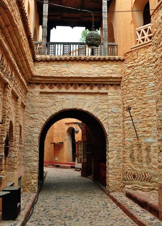 archway: agadir city morocco medina landmark arab archway