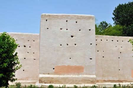 defensive: marrakech city morocco defensive walls landmark architecture