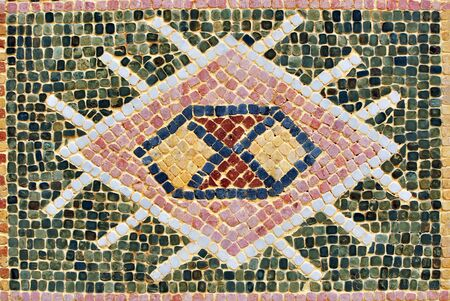 medina: agadir city morocco medina landmark arab mosaic detail Stock Photo