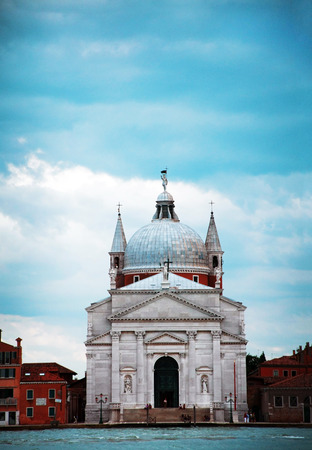 redeemer: venice city italy Church of the Most Holy Redeemer landmark architecture Stock Photo