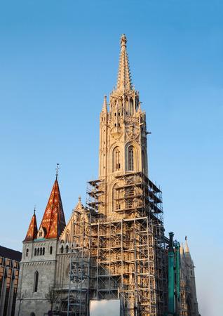 matthias: Budapest city Hungary Matthias Church landmark architecture