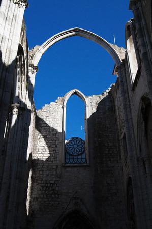 carmo: lisbon city portugal Convento do Carmo landmark architecture