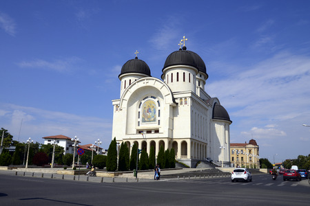 trinity: arad city romania The Holy Trinity cathedral landmark architecture 26.08.2015 Editorial