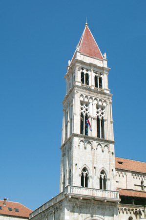 lawrence: Trogir town Croatia Cathedral of Saint Lawrence landmark architecture