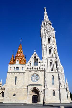 matthias: Budapest City Hungary Matthias Church Landmark Architecture Stock Photo