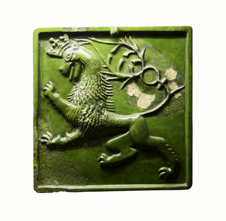 exhibit: budapest city hungary buda museum ceramic tile exhibit