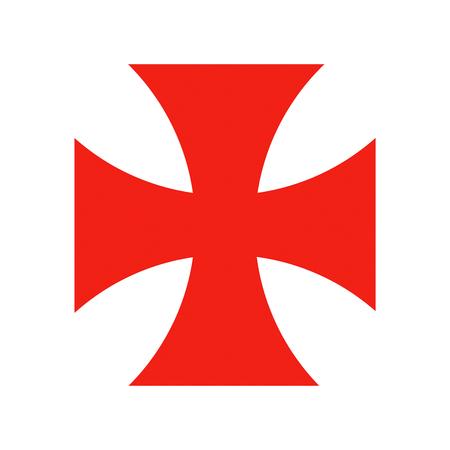 templar knights red cross crusade historic symbol