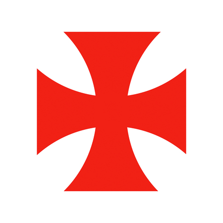 templar knights red cross crusade historic symbol