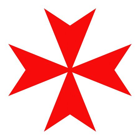 crusade: malta knights red cross crusade historic symbol