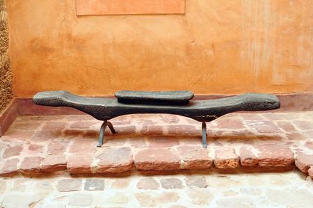 medina: agadir city morocco medina landmark arab bench