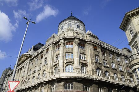 ministry: Budapest city Hungary Internal Ministry Building Landmark Architecture Editorial