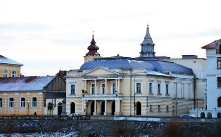 municipal: Lugoj City Romania municipal theater landmark architecture