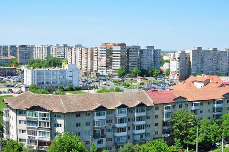 high angle: TIMISOARA, ROMANIA - 5.18.2015: circumvalatiunii area high angle view editorial Editorial