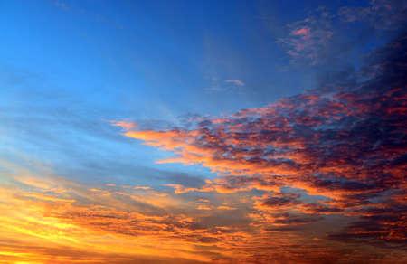 fantastic: Fantastic Dramatic Sun set Sky nature background