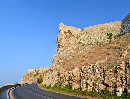 fortezza: Rethymno city Greece Fortezza fortress landmark architecture