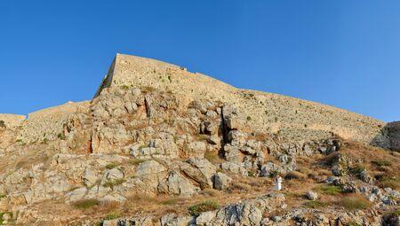 rethymno: Rethymno city Greece Fortezza fortress landmark architecture