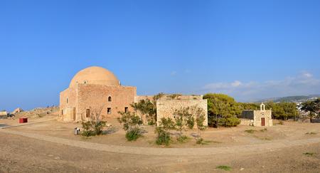 fortezza: Rethymno city Greece Fortezza fortress Agios Nikolaos landmark architecture