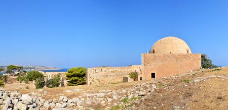 rethymno: Rethymno city Greece Fortezza fortress Mosque landmark architecture