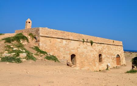 rethymno: Rethymno city Greece Fortezza fortress cavalier landmark architecture