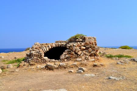 fortezza: Rethymno city Greece Fortezza fortress ruins landmark