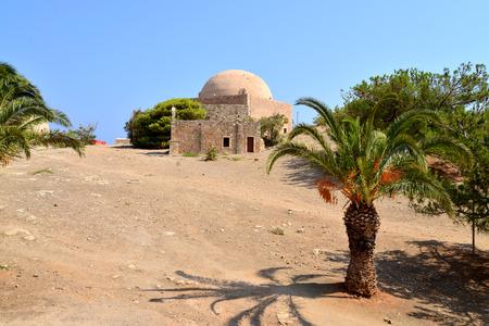 fortezza: Rethymno city Greece Fortezza fortress Mosque landmark architecture