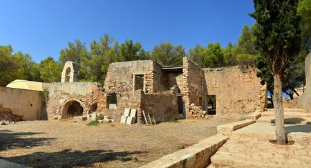 fortezza: Rethymno city Greece Fortezza fortress chapel ruins landmark architecture