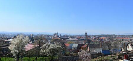 turda: Turda town Romania panorama view landscape architecture Stock Photo